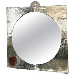 "Mid-Century Modern Mirror by Fratelli Toso, from ""Laguna"" Series"