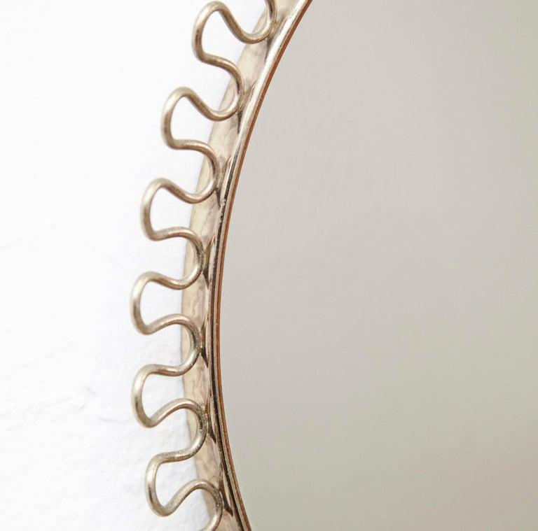 Spanish Mid-Century Modern Mirror by Josef Frank
