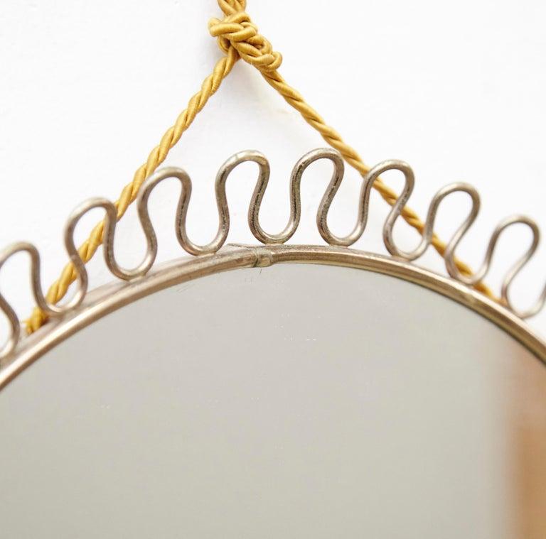 Mid-Century Modern Mirror by Josef Frank In Good Condition In Barcelona, Barcelona