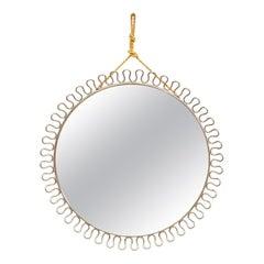Mid-Century Modern Mirror by Josef Frank