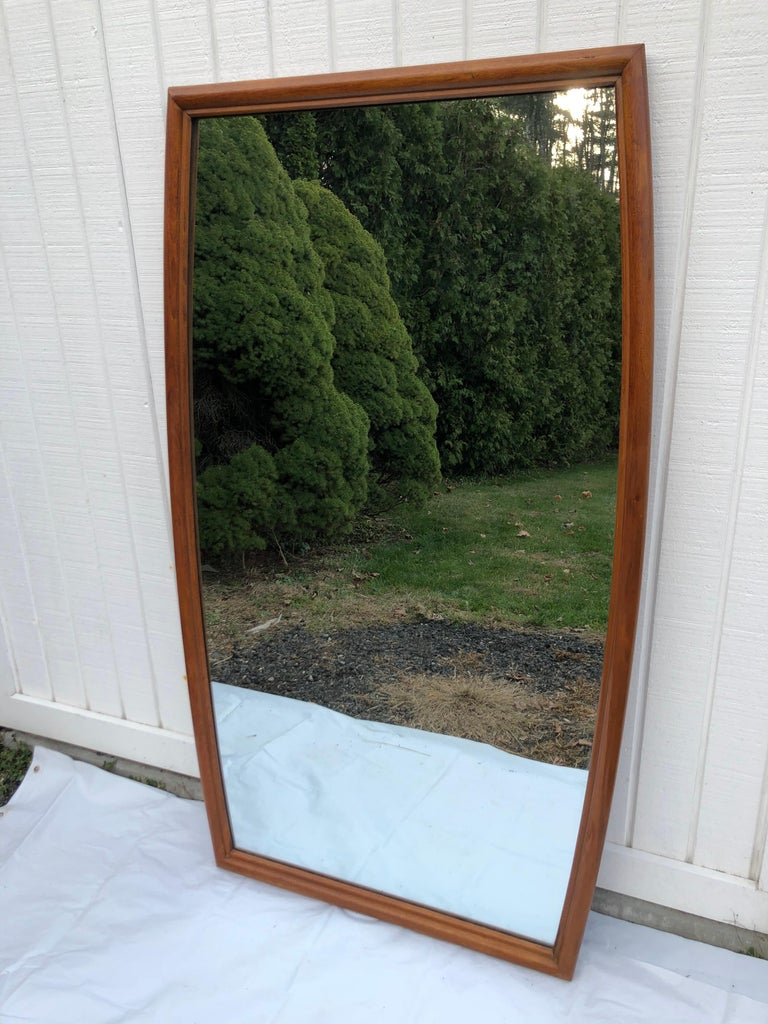Large Mid-Century Modern Mirror For Sale 6