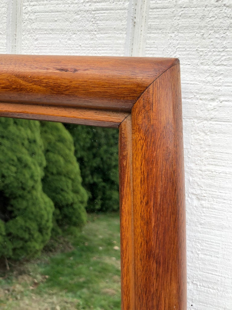 Large Mid-Century Modern Mirror For Sale 8