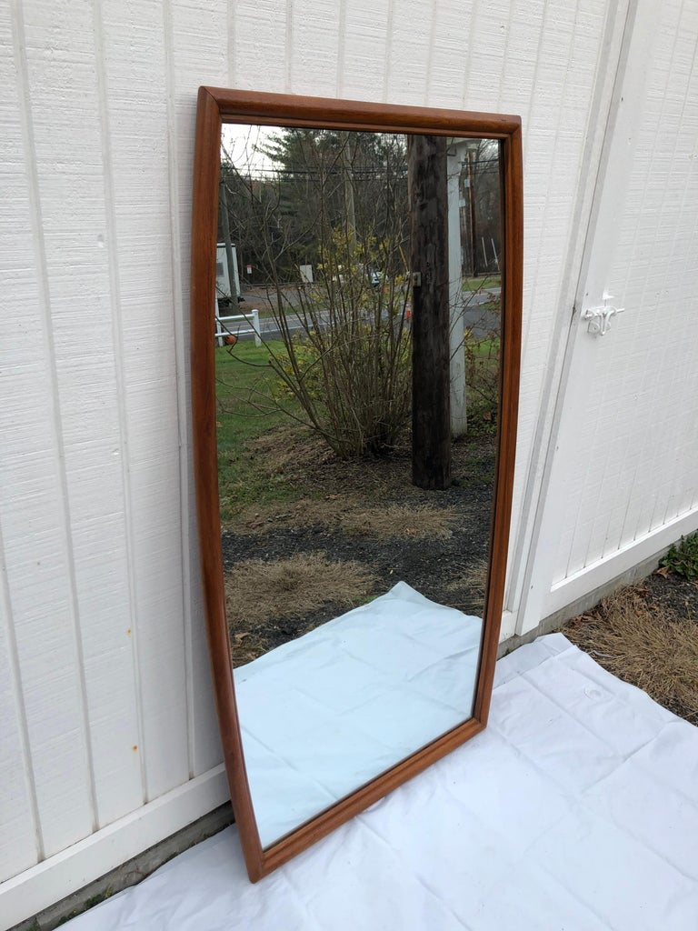 Large Mid-Century Modern Mirror For Sale 11
