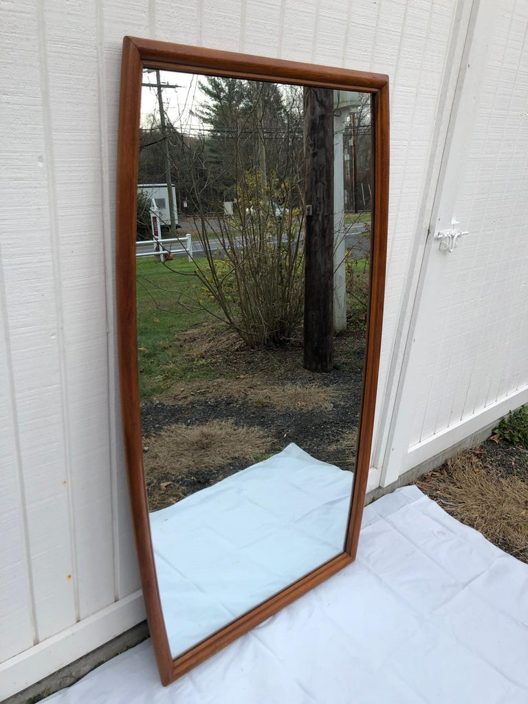 Large Mid-Century Modern Mirror For Sale 12