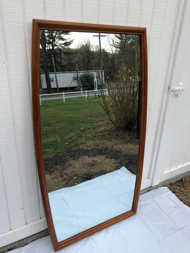 Large Mid-Century Modern Mirror For Sale 13
