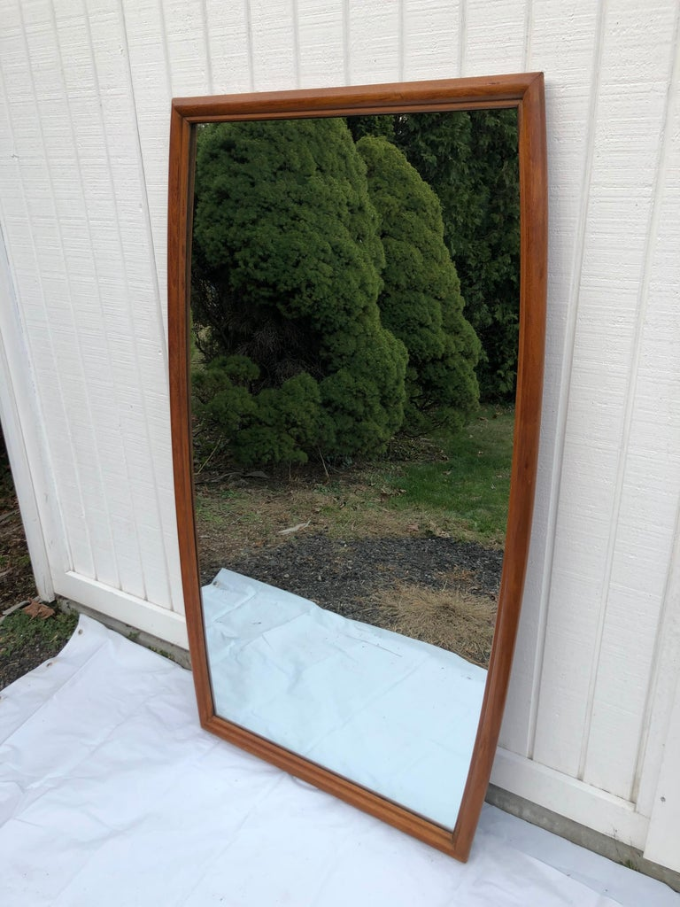 Large Mid-Century Modern Mirror For Sale 14