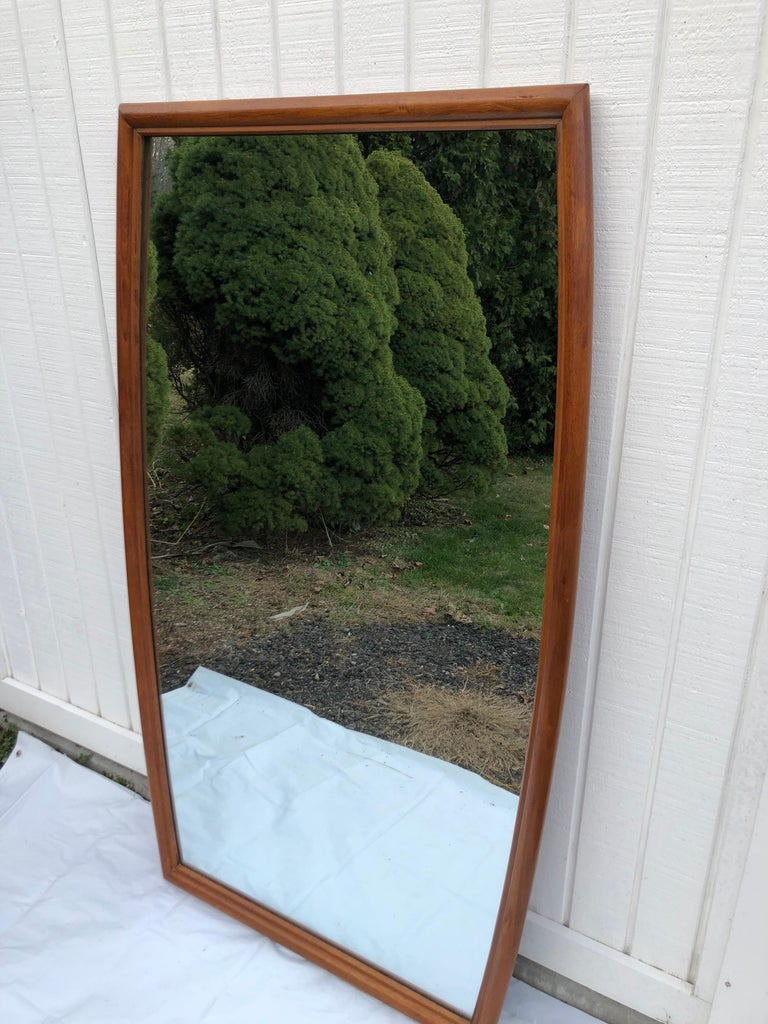 Large Mid-Century Modern Mirror For Sale 15