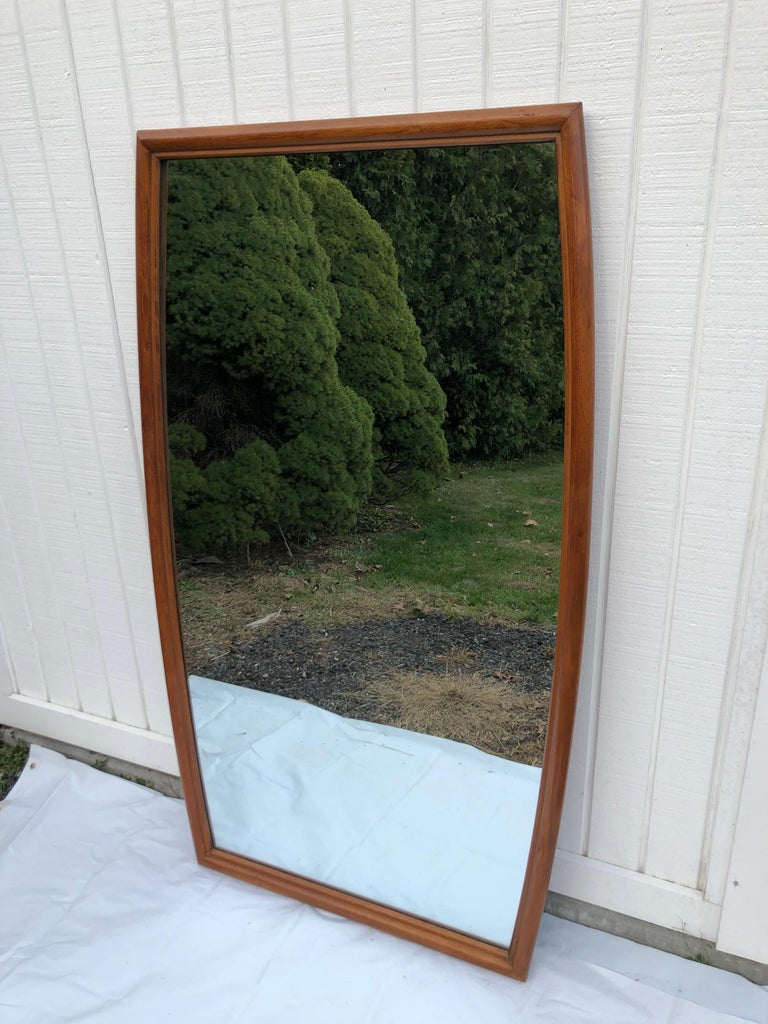 Mid-20th Century Large Mid-Century Modern Mirror For Sale
