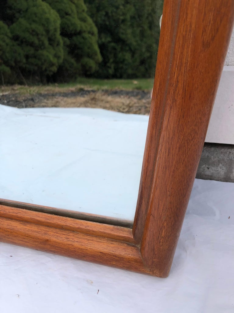 Large Mid-Century Modern Mirror For Sale 1