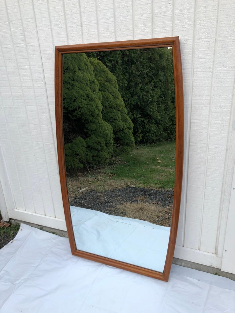 Large Mid-Century Modern Mirror For Sale 4