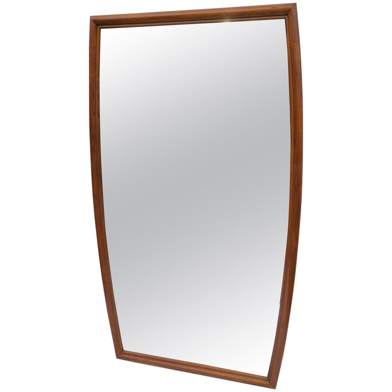 Large Mid-Century Modern Mirror For Sale
