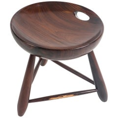 Mid-Century Modern Mocho Stool by Sergio Rodrigues for OCA, Brazil, 1950s