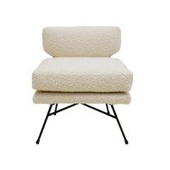 Mid-Century Modern Mod Elettra Armchair Designed By B.B.P.R Edited by Arflex