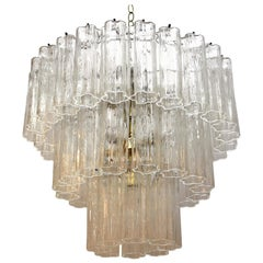 Mid-Century Modern Murano Glass Chandelier