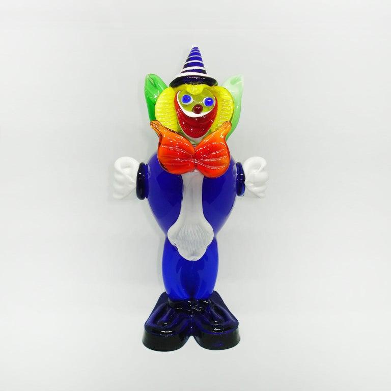 Mid-Century Moderne, Muranoglas, Clown, Italien, ca. 1960er Jahre 10