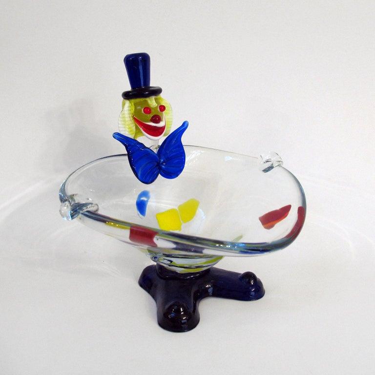 Mid-Century Moderne, Muranoglas, Clown, Italien, ca. 1960er Jahre 12
