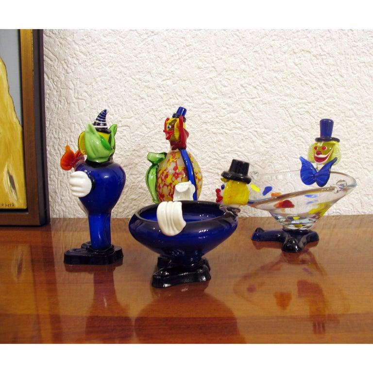 Mid-Century Moderne, Muranoglas, Clown, Italien, ca. 1960er Jahre 4