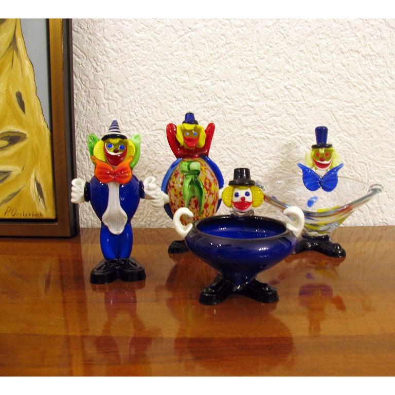 Mid-Century Moderne, Muranoglas, Clown, Italien, ca. 1960er Jahre 5