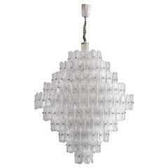 Mid-Century Modern Murano Glass Italian Pendant Lamp
