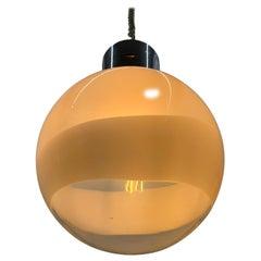 Mid-Century Modern Murano Glass Sphere by Mazzega, circa 1970