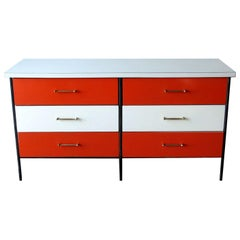 Mid-Century Modern Nelson Style Chest of Drawers Vista of California