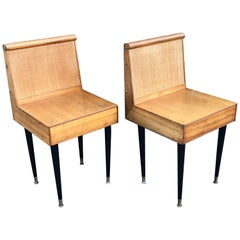 Mid-Century Modern Nightstands by John Keal for Brown Saltman, 1950s