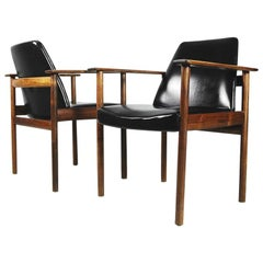 Mid-Century Modern Norwegian Chairs by Sven Ivar Dysthe for Dokka Møbler, 1960s