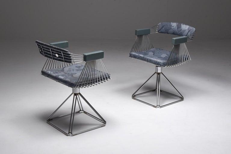 Mid-Century Modern Novalux Dining Set by Rudi Verelst For Sale 4