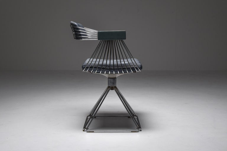 Mid-Century Modern Novalux Dining Set by Rudi Verelst For Sale 5