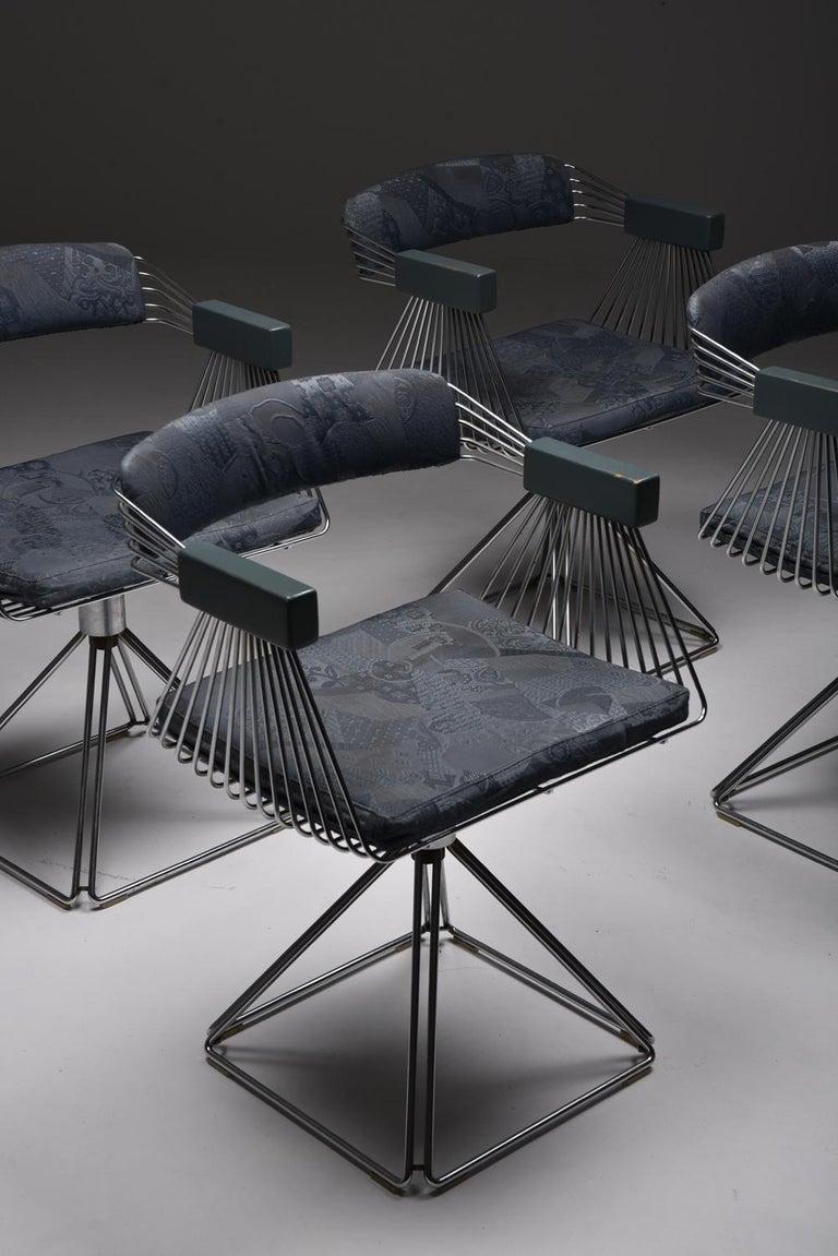 Mid-Century Modern Novalux Dining Set by Rudi Verelst For Sale 11