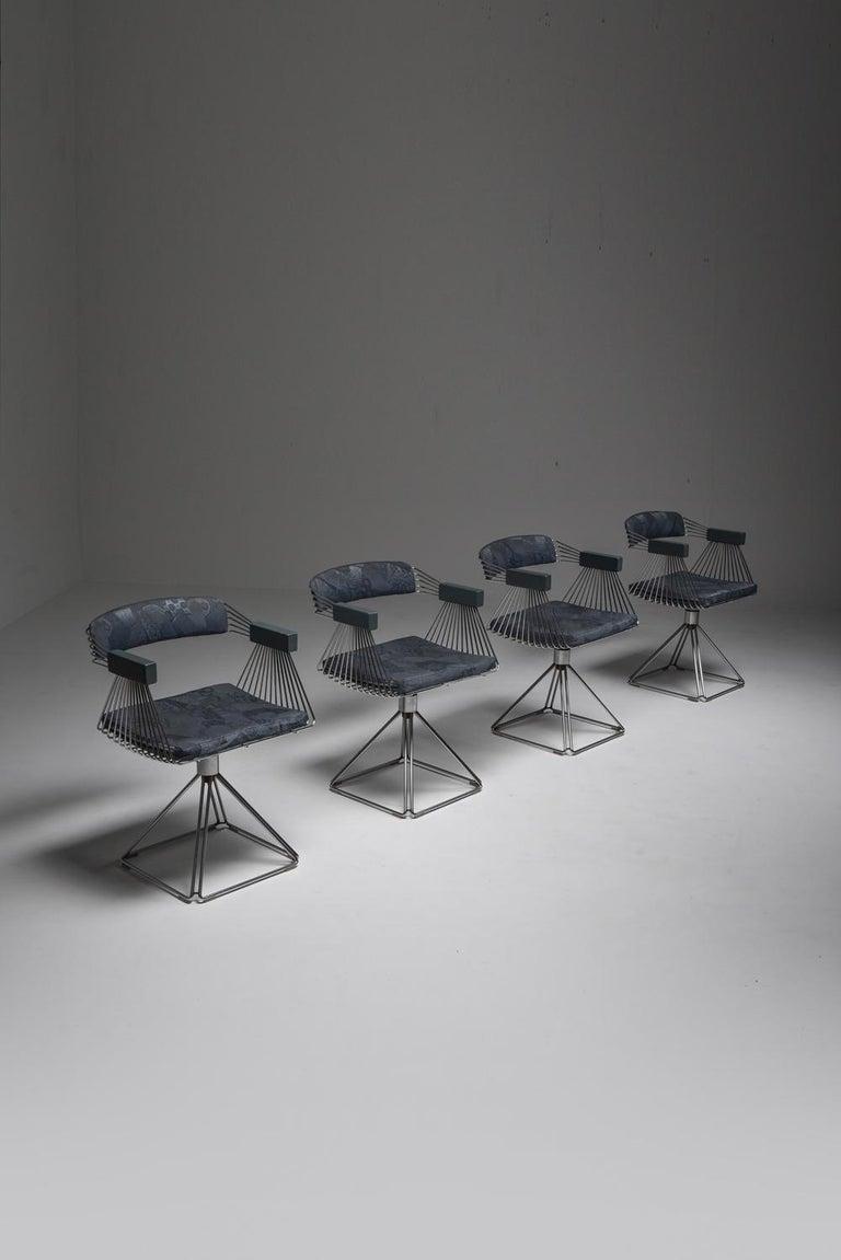 Mid-Century Modern Novalux Dining Set by Rudi Verelst For Sale 12