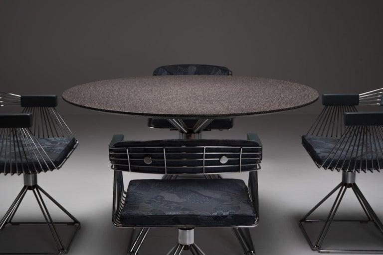 20th Century Mid-Century Modern Novalux Dining Set by Rudi Verelst For Sale