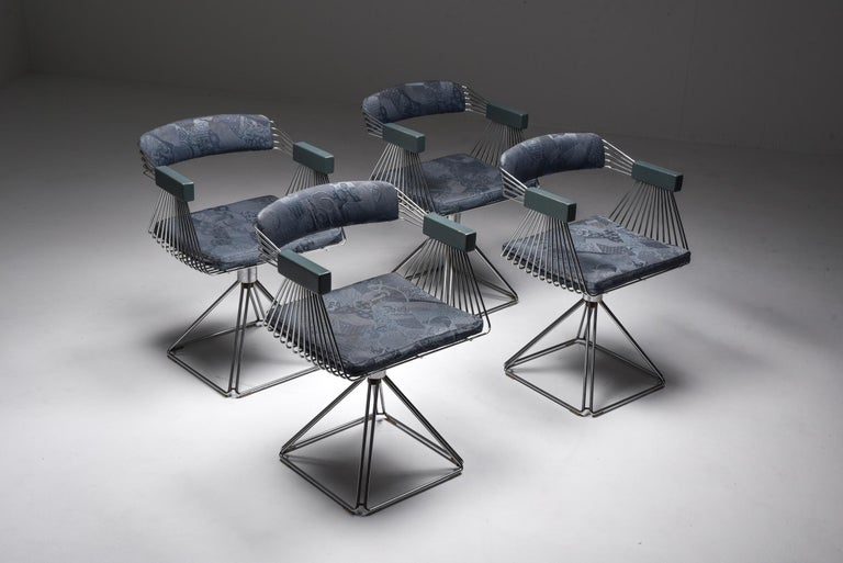 Wool Mid-Century Modern Novalux Dining Set by Rudi Verelst For Sale