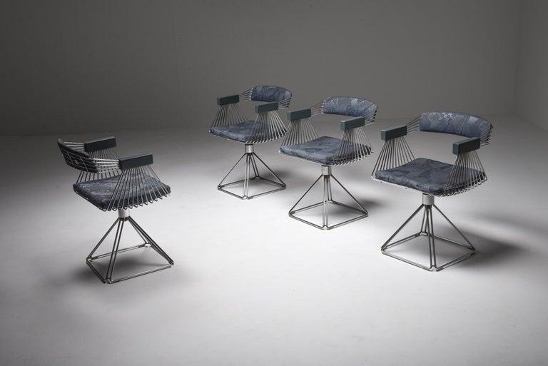 Mid-Century Modern Novalux Dining Set by Rudi Verelst For Sale 1