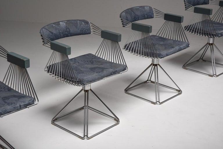Mid-Century Modern Novalux Dining Set by Rudi Verelst For Sale 2