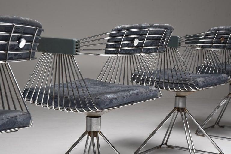 Mid-Century Modern Novalux Dining Set by Rudi Verelst For Sale 3