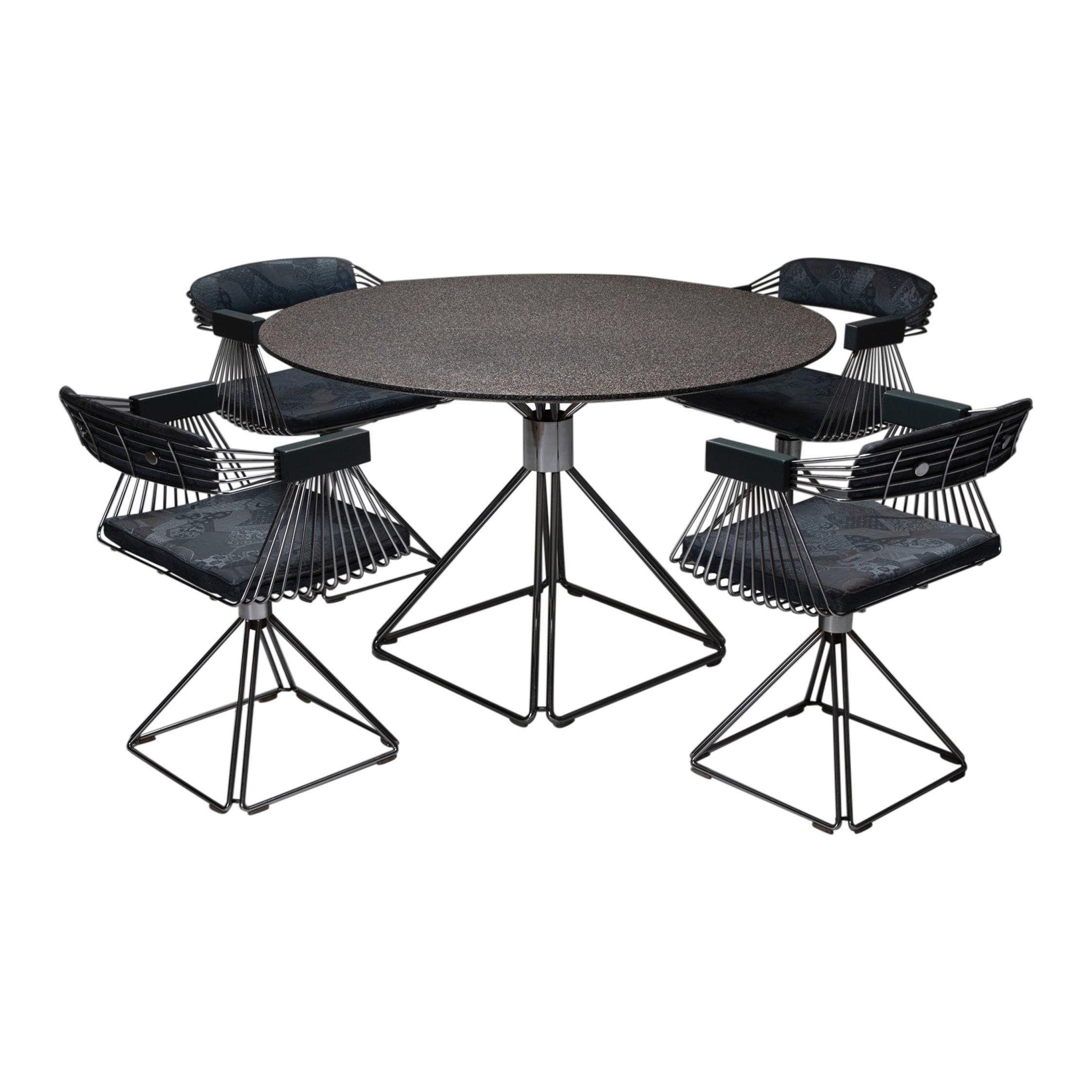 Mid-Century Modern Novalux Dining Set by Rudi Verelst