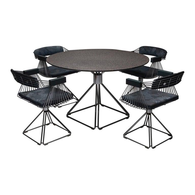 Mid-Century Modern Novalux Dining Set by Rudi Verelst For Sale