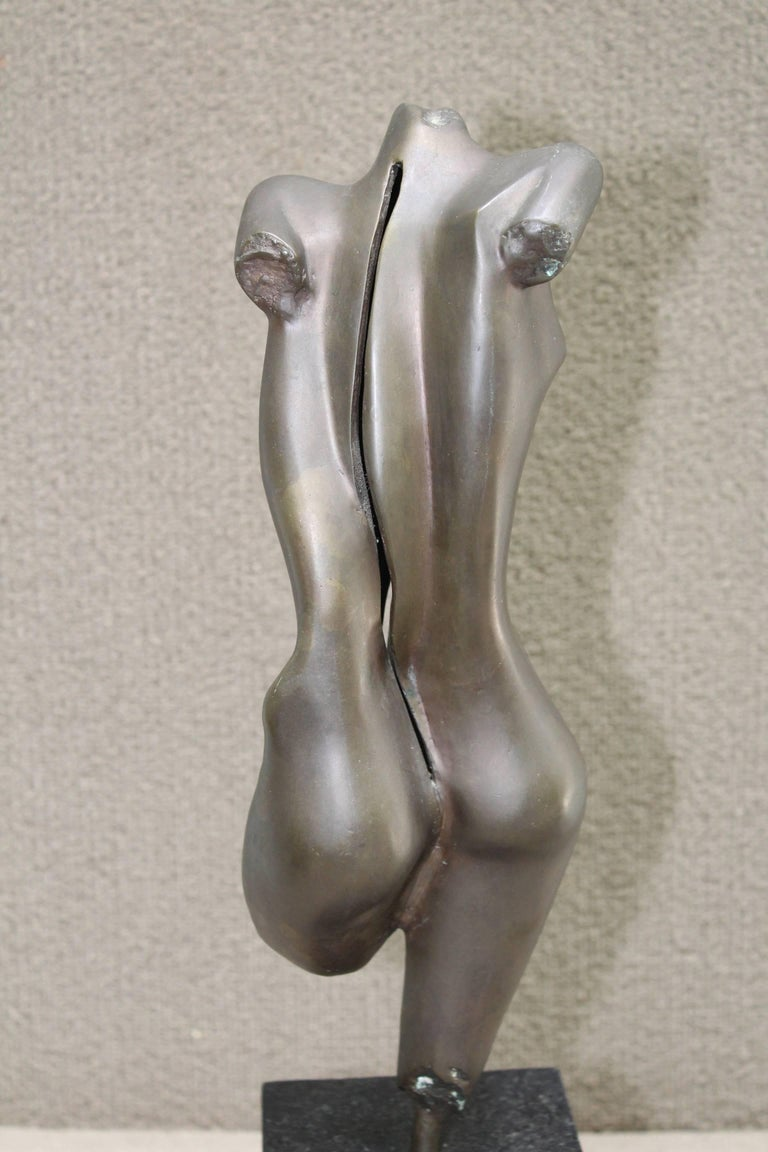 Mid-Century Modern Nude Bronze Sculpture For Sale 1