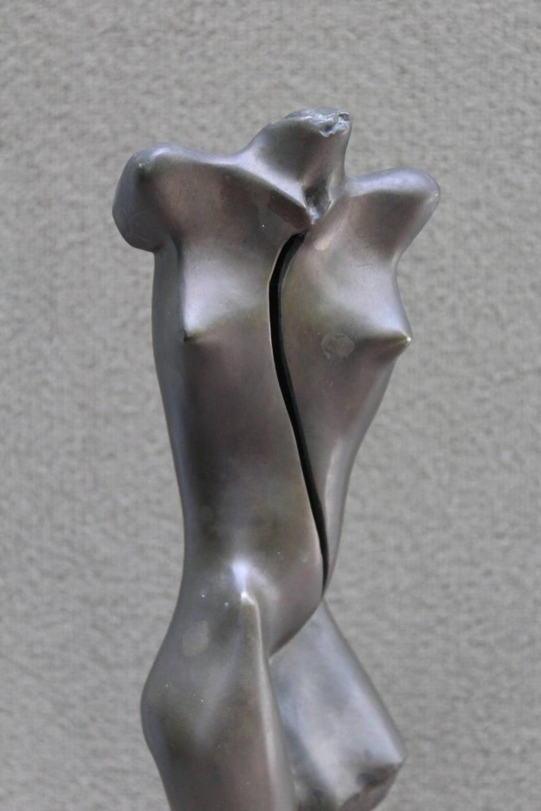 Mid-Century Modern Nude Bronze Sculpture For Sale 2