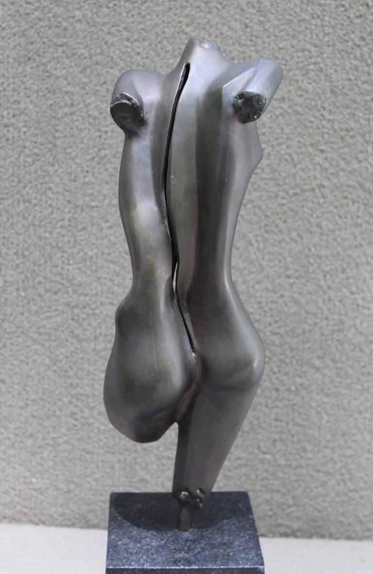 Mid-Century Modern Nude Bronze Sculpture For Sale 3