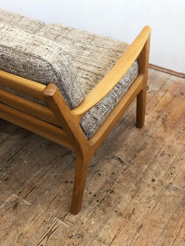 Mid-Century Modern Oak Sofa, Model Senator by Ole Wanscher for Poul Jeppesens For Sale 4