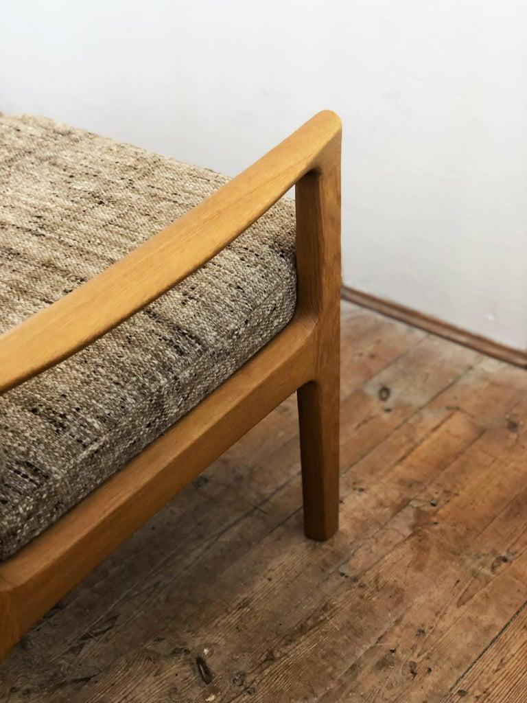 Mid-Century Modern Oak Sofa, Model Senator by Ole Wanscher for Poul Jeppesens For Sale 5