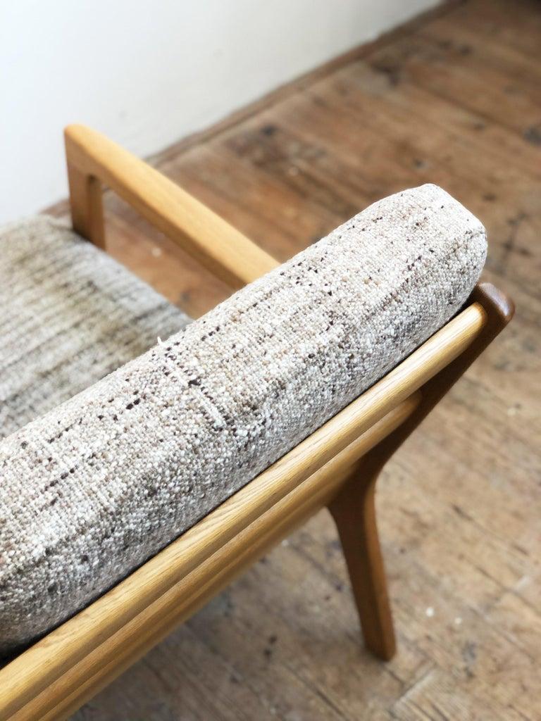 Mid-Century Modern Oak Sofa, Model Senator by Ole Wanscher for Poul Jeppesens For Sale 6