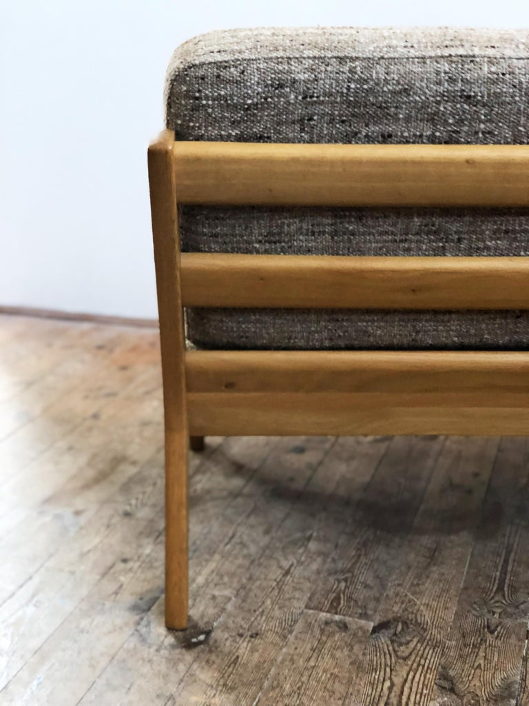 Mid-Century Modern Oak Sofa, Model Senator by Ole Wanscher for Poul Jeppesens For Sale 2