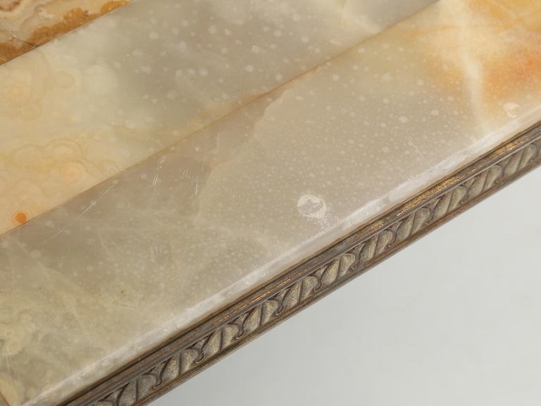 Mid-Century Modern Onyx Coffee Table from France For Sale 6