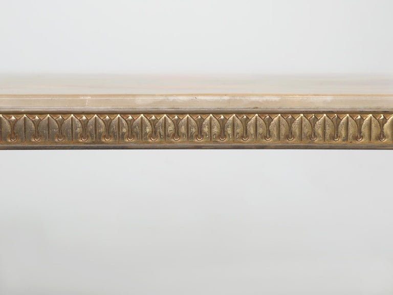 Mid-Century Modern Onyx Coffee Table from France For Sale 8
