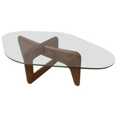 Mid-Century Modern Organic Cocktail Table Style of Adrian Pearsall