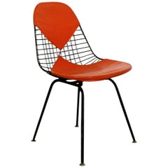 Mid-Century Modern Original Eames for Herman Miller Iron Bikini Side Chair 1960s