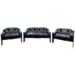 Mid-Century Modern Oriolo Lounge Set by Claudio Salocchi for Sormani